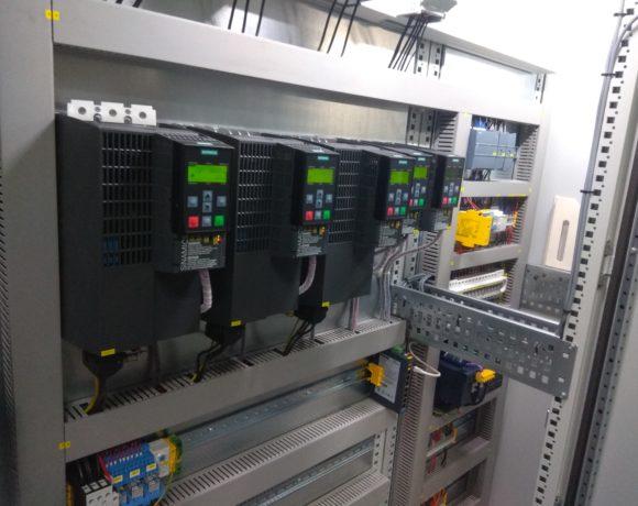 System sterowania i zasilania instalacją chłodzenia saletry sodowej i potasowej w zakładach chemicznych ALVENTA. (Alwernia, Polska)